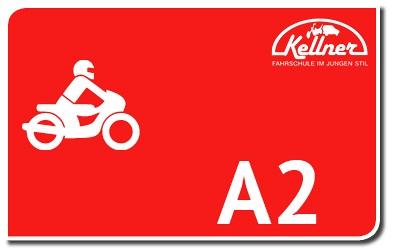 Krafträder bis 35 kW: A2